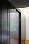 Steel wall cladding