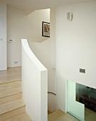 Treppenhaus mit Treppengeländer