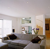 Living space on different levels