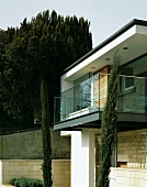 House with balcony