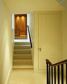 Cupboard in traditional stairwell