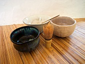 Tea ceremony utensils