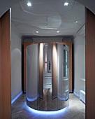 Solarium in luxury spa
