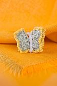 Crocheted butterfly