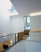 Light kitchen in mezzanine