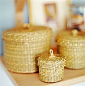 Baskets with lids