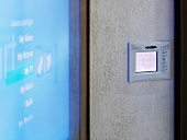 Input screen for house technology