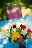 Blumensträusschen aus dem Garten