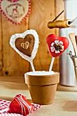 Cake-pop hearts