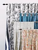 Various curtain fabrics