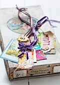 Hand-made present tags