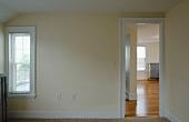 Doorway between rooms in empty apartment