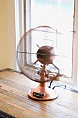 Old Fashioned Brass Fan