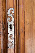 Armoire Detail with Lock
