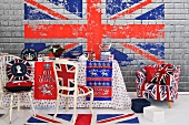 Table decorated for the Queen's Diamond Jubilee