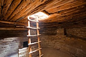 Interior of a Native American Cliff Dwelling