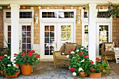 French Doors and Patio