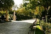 Public Promenade in Burgos, Spain