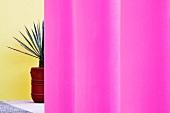 Pink Architectural Columns