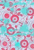 Pink floral pattern (print)