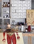 Old medicine cabinet