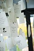 Ingo Maurer paper notes lamp
