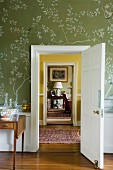 Suite of rooms in traditional English country house