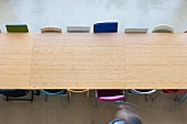 Conference table in the Van Nelle Design Factory, Rotterdam, Netherlands
