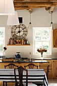 Elegant kitchen in country house