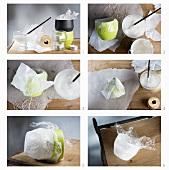 Making a DIY tealight holder