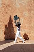 Staff member of Hotel Cap Rocat (Palma de Mallorca, Spain)