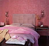 Bedroom Furnished in Pink