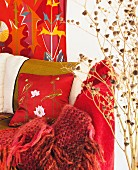 Home interior in happy colors