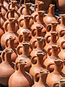 Clay wine jars in Georgia, Caucasus.