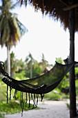 A hammock, Ko Lippe, Thailand.