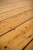Close up of boards of old wooden floor