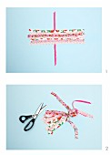 Hand-crafting a tassel from fabric remnants