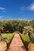 Beldi Country Club, hotel complex on the outskirts of Marrakesh, Morocco