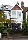 Front elevation of Edwardian, English house