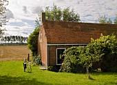19th-century brick house