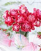 Bouquet of Tulipa 'Double Sugar'