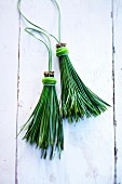 Natural decorations - tassels made from pine needles