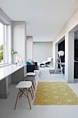 Modern living room in loft apartment