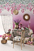 Floral furnishings and accessories