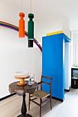 Küche mit surrealistischen Designerstücken