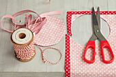 Deckelhauben für Marmeladengläser selbermachen