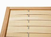 Hand-made woven wooden screen