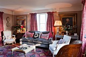 Classic English living room