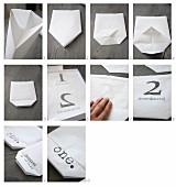 Basteln einer Papiertüte