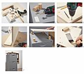 Anleitung für einen Schubladencontainer mit Aufsatz